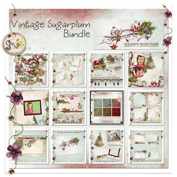 Vintage Sugarplum Value Bundle